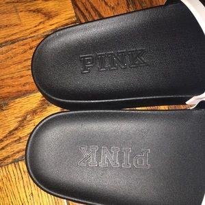 PINK Victoria's Secret Shoes - 💜 NWOT VS Pink slides 💜